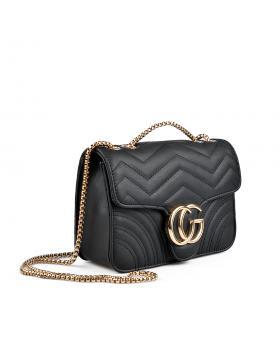 Черна дамска ежедневна чанта 0136098 в online магазин Fashionzona