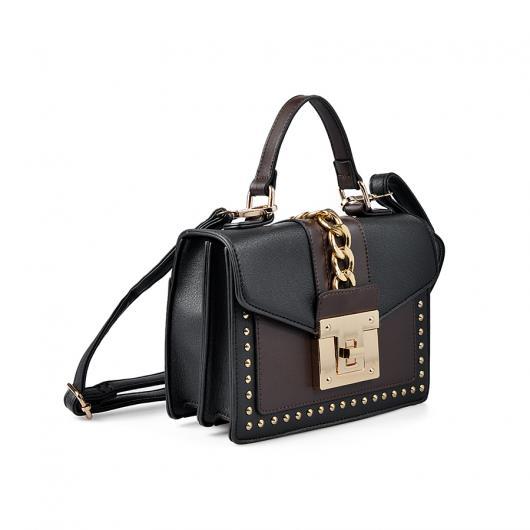 Черна дамска ежедневна чанта 0136100