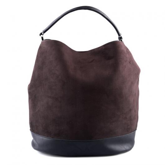 Кафява дамска ежедневна чанта Bryssa