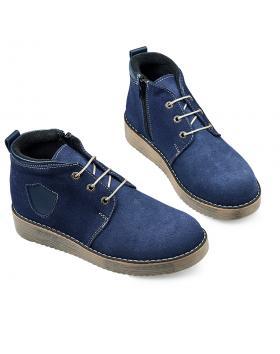 Сини ежедневни боти 1823 в online магазин Fashionzona