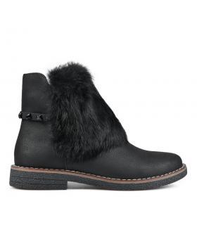 Черни дамски ежедневни боти 0135276 в online магазин Fashionzona