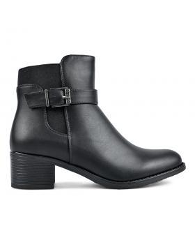 Черни дамски елегантни боти 0135583 в online магазин Fashionzona