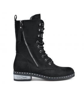 Черни дамски ежедневни боти 0135273 в online магазин Fashionzona