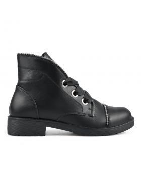 Черни дамски ежедневни боти 0135247 в online магазин Fashionzona