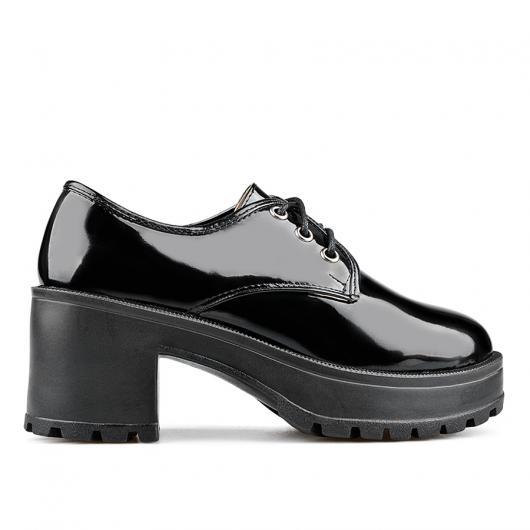 Черни дамски ежедневни обувки 0135829