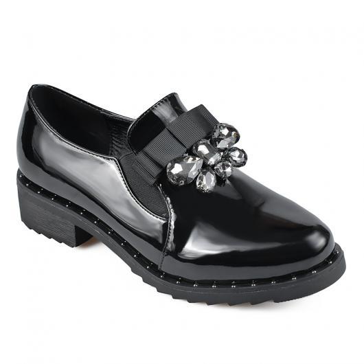 Черни дамски ежедневни обувки Goldie