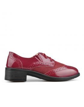 Червени дамски ежедневни обувки Dinora в online магазин Fashionzona