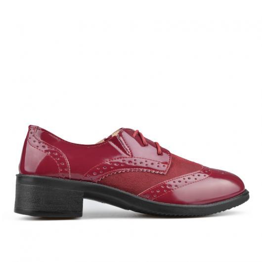 Червени дамски ежедневни обувки Dinora