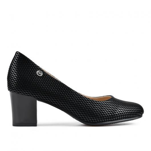 Черни дамски елегантни обувки Valerian