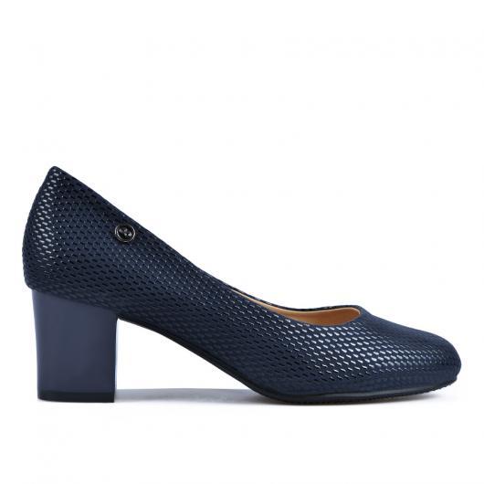 Сини дамски елегантни обувки Nirupama