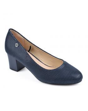 Сини дамски елегантни обувки 0135923 в online магазин Fashionzona