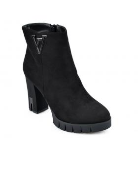 Черни дамски елегантни боти 0135254 в online магазин Fashionzona