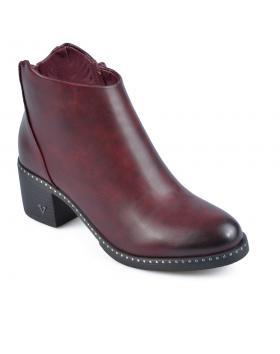 Червени дамски елегантни боти Lizette в online магазин Fashionzona