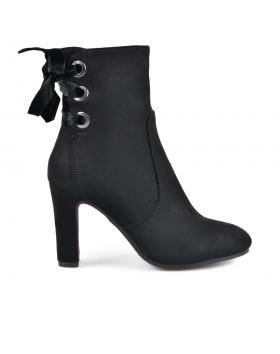 Черни дамски елегантни боти 0135305 в online магазин Fashionzona