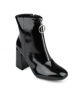 Черни елегантни дамски боти 0135930 в online магазин Fashionzona