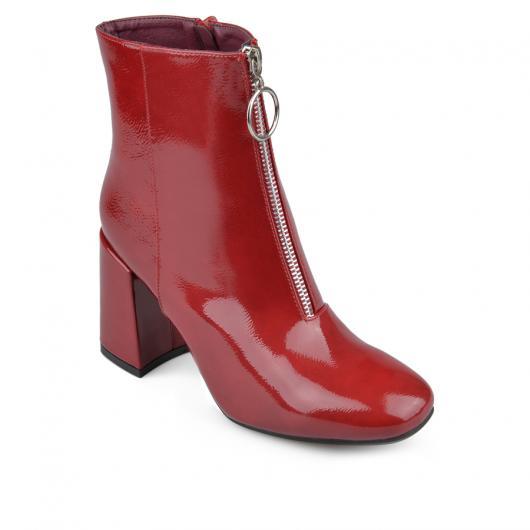 Червени дамски боти Bonie