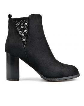 Черни дамски елегантни боти 0135665 в online магазин Fashionzona