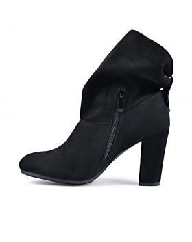 Черни дамски елегантни боти Shandey в online магазин Fashionzona