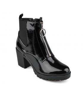 Черни дамски ежедневни боти 0135928 в online магазин Fashionzona