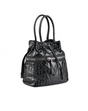 Черна дамска ежедневна чанта 0135953 в online магазин Fashionzona