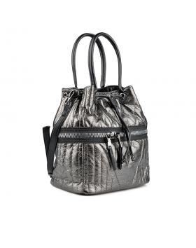 Сребриста дамска ежедневна чанта 0135954 в online магазин Fashionzona