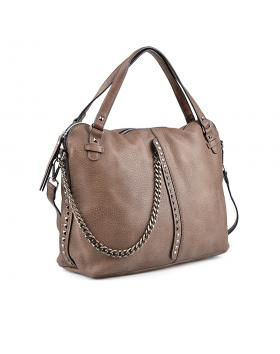 Кафява дамска ежедневна чанта Jagadamba в online магазин Fashionzona
