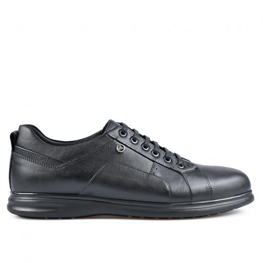 Черни мъжки ежедневни обувки Flip