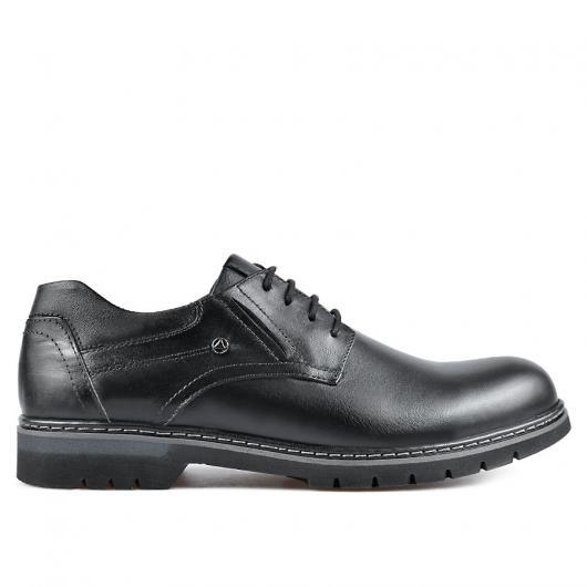 Черни мъжки ежедневни обувки Franco