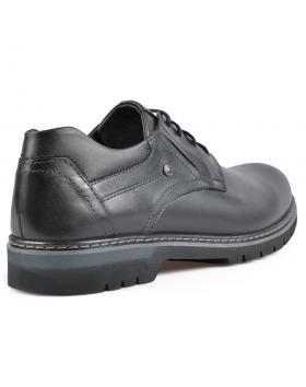 Черни мъжки ежедневни обувки Franco в online магазин Fashionzona