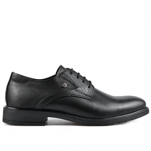 Черни мъжки елегантни обувки Geronimo