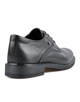 Черни мъжки елегантни обувки Geronimo в online магазин Fashionzona