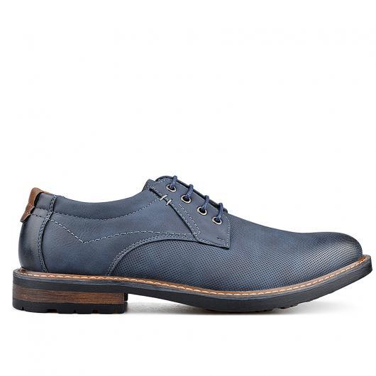 Сини мъжки ежедневни обувки Placydo