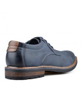 Сини мъжки ежедневни обувки Placydo в online магазин Fashionzona