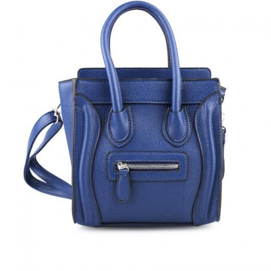 Синя дамска ежедневна чанта Aubree