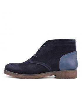 Тъмно сини мъжки ежедневни боти с топъл хастар Victoriano в online магазин Fashionzona