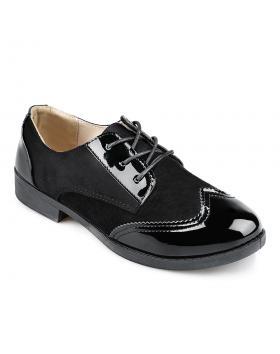 Черни дамски ежедневни обувки Amaia в online магазин Fashionzona
