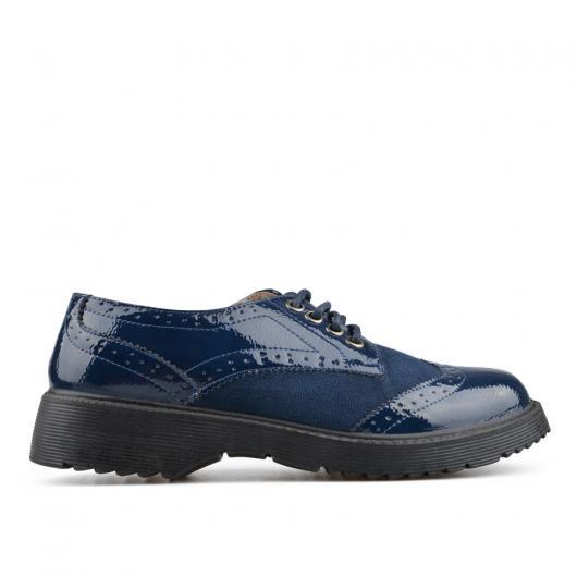 Сини дамски ежедневни обувки Genevieve