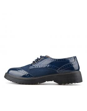 Сини дамски ежедневни обувки Genevieve в online магазин Fashionzona