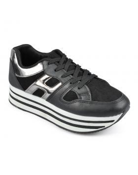 Черни дамски ежедневни обувки Mythily в online магазин Fashionzona