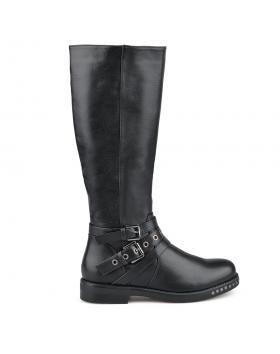 Черни дамски ботуши Sylvie в online магазин Fashionzona