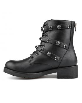 Черни дамски ежедневни боти 0135337 в online магазин Fashionzona