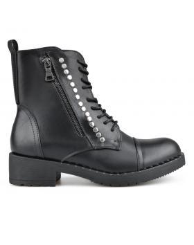 Черни дамски ежедневни боти 0135345 в online магазин Fashionzona