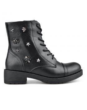 Черни дамски ежедневни боти 0136063 в online магазин Fashionzona