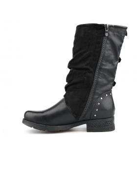 Черни дамски ежедневни боти 0136070 в online магазин Fashionzona