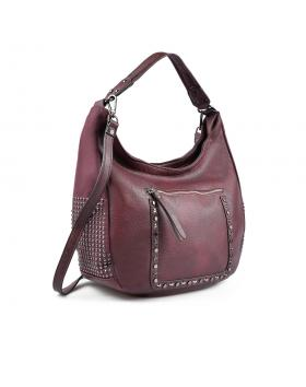 Червена дамска ежедневна чанта 0135443 в online магазин Fashionzona