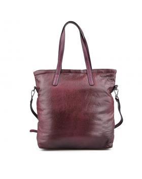 Бордо дамска ежедневна чанта Nandita в online магазин Fashionzona