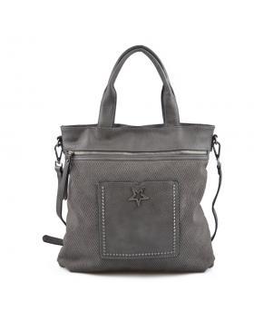 Сива дамска ежедневна чанта Jiselle в online магазин Fashionzona