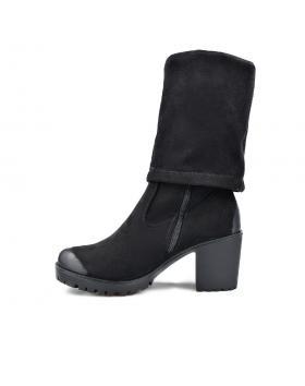 Черни дамски ежедневни боти 0135577 в online магазин Fashionzona