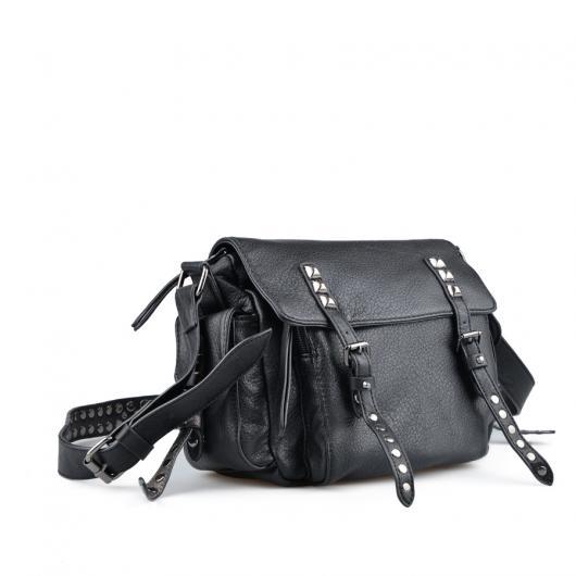 Черна дамска ежедневна чанта 0136001