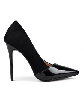 Черни дамски елегантниобувки Padmini в online магазин Fashionzona